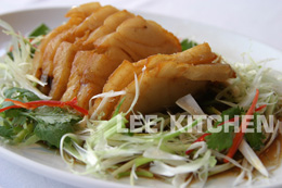 Fried Snow Fish with Soya Sauce